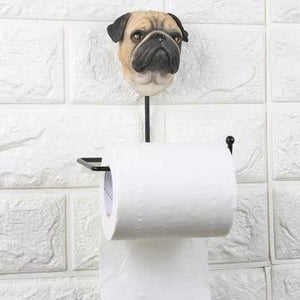 Paw-some Morning Multipurpose Bathroom AccessoryHome DecorPug