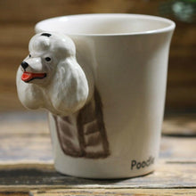 Load image into Gallery viewer, Poodle Love 3D Ceramic CupMug