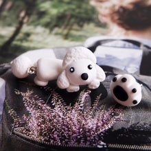 Load image into Gallery viewer, Poodle Love Handmade Polymer Clay EarringsDog Themed Jewellery