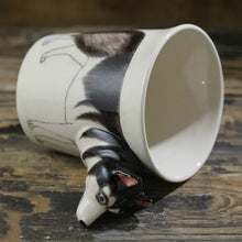 Load image into Gallery viewer, Husky Love 3D Ceramic Cup