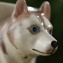 Load image into Gallery viewer, White Husky Love 3D Ceramic Cup