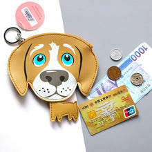 Load image into Gallery viewer, Labrador Love Coin Purse and Keychain