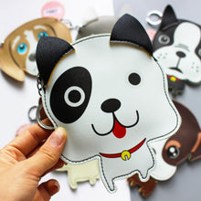 Load image into Gallery viewer, Husky Love Coin Purse and Keychain