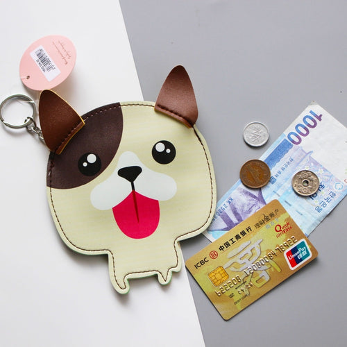 French Bulldog Love Coin Purse and Keychain