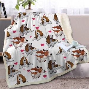 Infinite Shar Pei Love Warm Blanket - Series 2