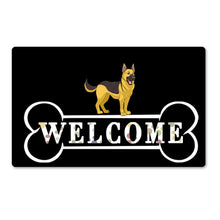 Load image into Gallery viewer, Warm Doggo Welcome Rubber Door Mats