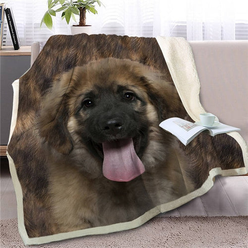 German Shepherd Love Soft Warm Fleece Blanket - Series 2