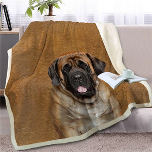 Chow Chow Love Soft Warm Fleece Blanket - Series 2