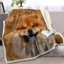 Load image into Gallery viewer, French Bulldog Love Soft Warm Fleece Blanket - Series 2