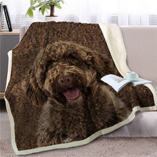 Load image into Gallery viewer, Doggo Love Soft Warm Fleece Blankets - Series 2