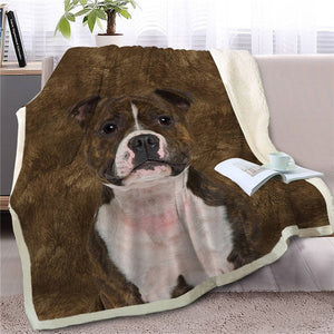 Labradoodle Love Soft Warm Fleece Blanket - Series 2