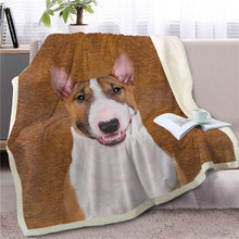 Load image into Gallery viewer, American Pit Bull Terrier Love Soft Warm Fleece Blanket - Series 2