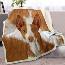 Load image into Gallery viewer, Irish Setter Love Soft Warm Fleece Blanket - Series 2