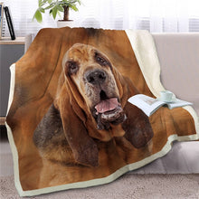 Load image into Gallery viewer, Chesapeake Bay Retriever Love Soft Warm Fleece Blanket - Series 2