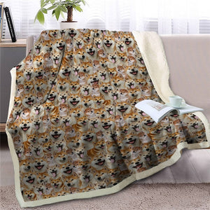Sweetest German Shepherd Dreams Warm Blanket - Series 1