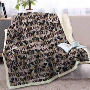 Sweetest Rottweiler Dreams Warm Blanket - Series 1