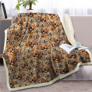 Sweetest Border Collie Dreams Warm Blanket - Series 1