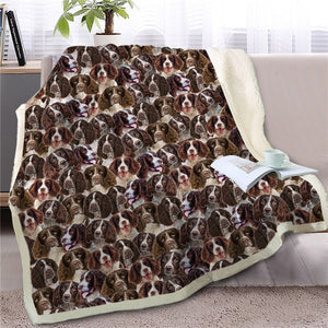 Sweetest Doggo Dreams Warm Blankets - Series 3