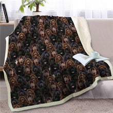 Load image into Gallery viewer, Sweetest Basset Hound Dreams Warm Blanket - Series 3