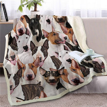 Load image into Gallery viewer, Sweetest Boston Terrier Dreams Warm Blanket - Series 2
