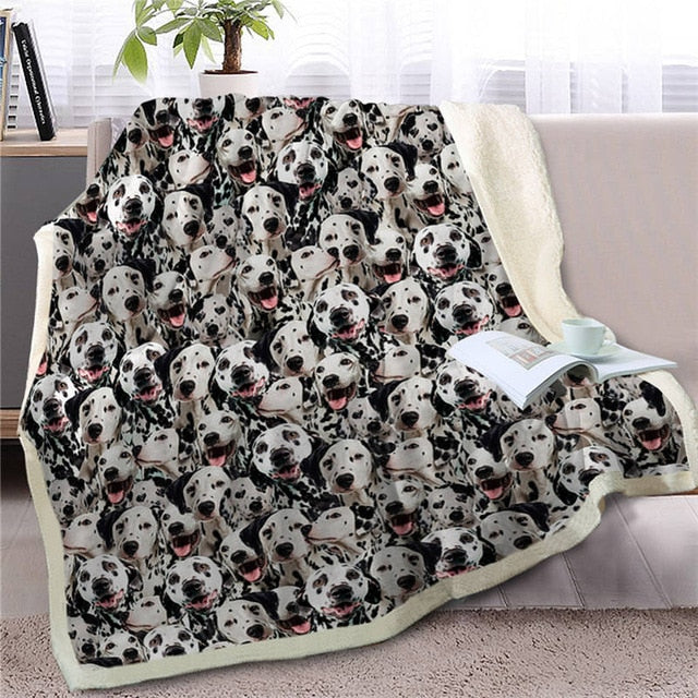 Sweetest Dalmatian Dreams Warm Blanket - Series 2