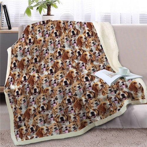 Sweetest Beagle Dreams Warm Blanket - Series 2