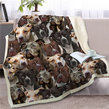 Load image into Gallery viewer, Sweetest Jack Russell Terrier Dreams Warm Blanket - Series 2