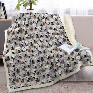 Sweetest Chinese Crested Dreams Warm Blanket - Series 2