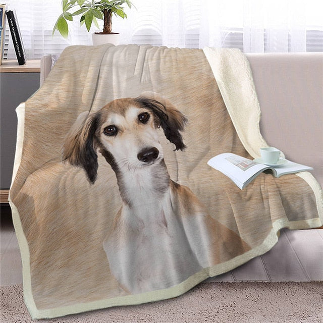 Shih Tzu Love Soft Warm Fleece Blanket - Series 3