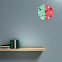 Load image into Gallery viewer, I Love My Poodle Wall Clock