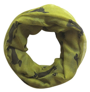 Infinite Dachshund Love Women's Scarves