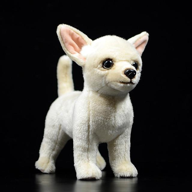 Lifelike Standing Chihuahua Soft Plush Toy