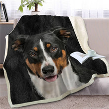 Load image into Gallery viewer, Schnauzer Love Soft Warm Fleece Blanket - Series 4
