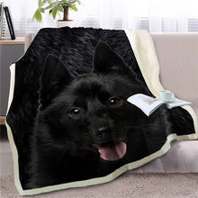 Load image into Gallery viewer, Scottish Terrier Love Soft Warm Fleece Blanket - Series 4