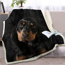 Load image into Gallery viewer, Great Dane Love Soft Warm Fleece Blanket - Series 4