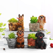 Load image into Gallery viewer, Cutest German Shepherd Love Succulent Flower Pots - Series 3