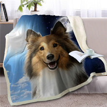 Load image into Gallery viewer, My Sun, My Moon, My Dachshund Love Warm Blanket - Series 1