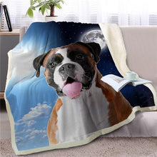 Load image into Gallery viewer, My Sun, My Moon, My Shih Tzu Love Warm Blanket - Series 1