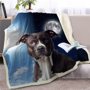 My Sun, My Moon, My Jack Russell Terrier Love Warm Blanket - Series 1