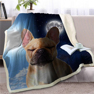 My Sun, My Moon, My Corgi Love Warm Blanket - Series 1