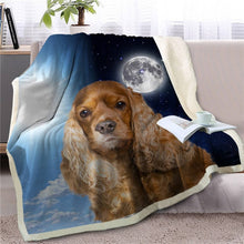 Load image into Gallery viewer, My Sun, My Moon, My Corgi Love Warm Blanket - Series 1