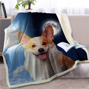 My Sun, My Moon, My Pomeranian Love Warm Blanket - Series 1
