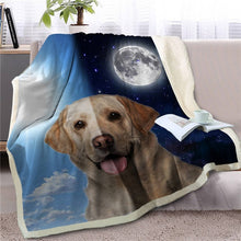Load image into Gallery viewer, My Sun, My Moon, My Bull Terrier Love Warm Blanket - Series 1