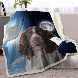 My Sun, My Moon, My Cocker Spaniel Love Warm Blanket - Series 1