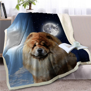 My Sun, My Moon, My Shih Tzu Love Warm Blanket - Series 1