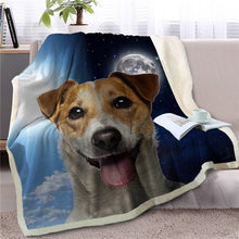 Load image into Gallery viewer, My Sun, My Moon, My Pomeranian Love Warm Blanket - Series 1