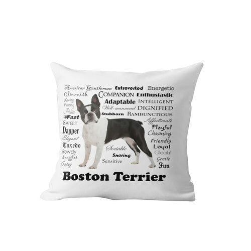 Why I Love My Boston Terrier Cushion Cover