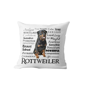 Why I Love My Border Collie Cushion Cover