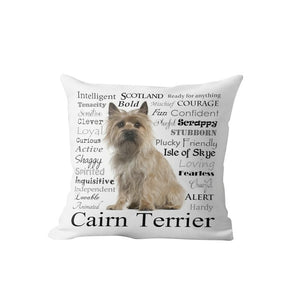 Why I Love My Cairn Terrier Cushion Cover