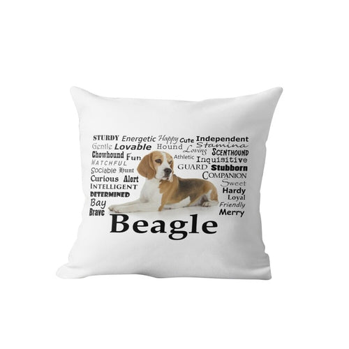 Why I Love My Beagle Cushion Cover